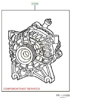 Ford Alternator For Falcon BA BF BFII BFIII  FG 5.4L V8 image