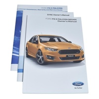 Ford Owner'S Manual For Falcon Fg X & Xr Sprint 2014-On image