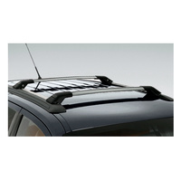 Ford Sy Sz Territory Carry Bars 80Kg Roof Racks Silver image